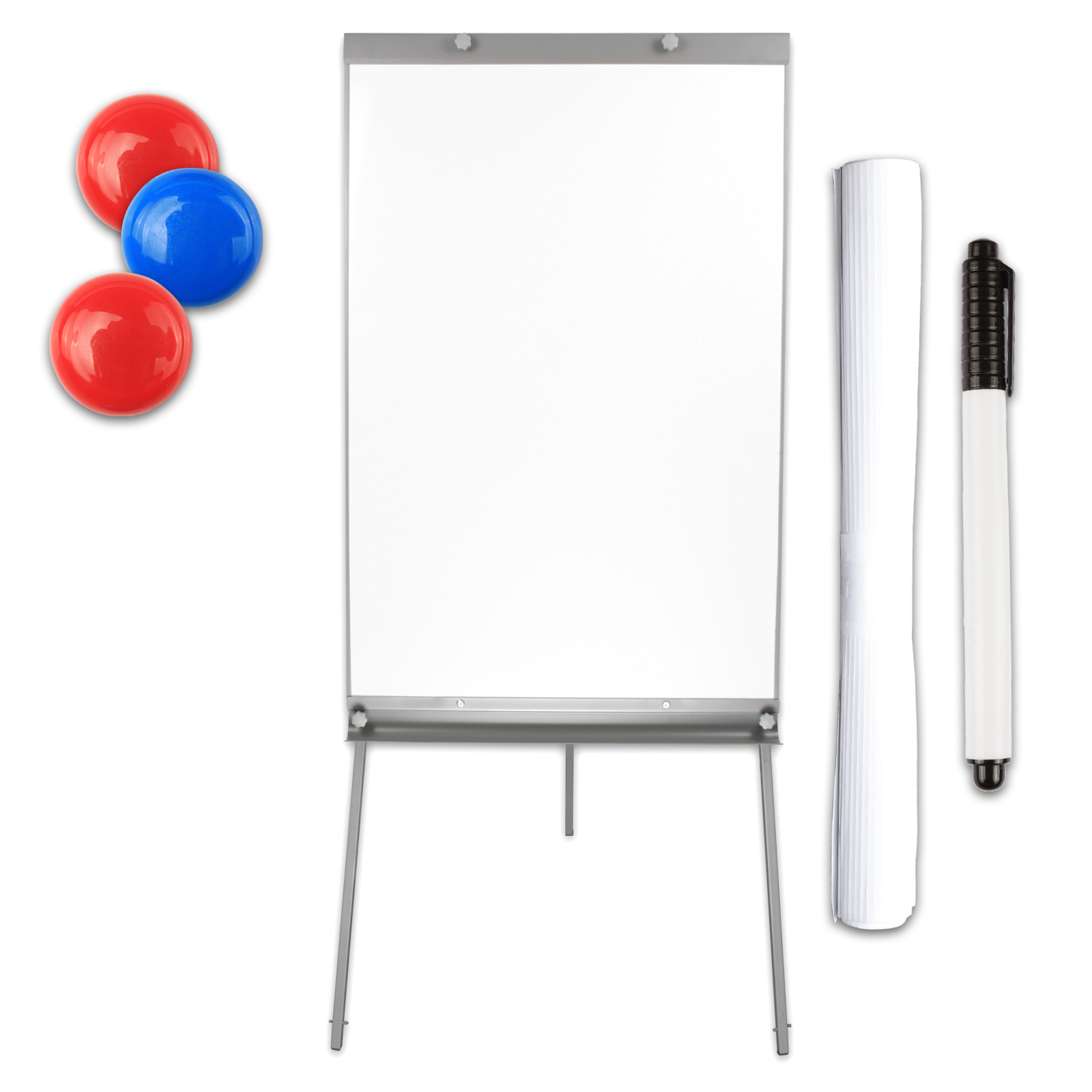 flipchart whiteboard magnetisch h henverstellbar auf rollen mobil oder einfach ebay. Black Bedroom Furniture Sets. Home Design Ideas