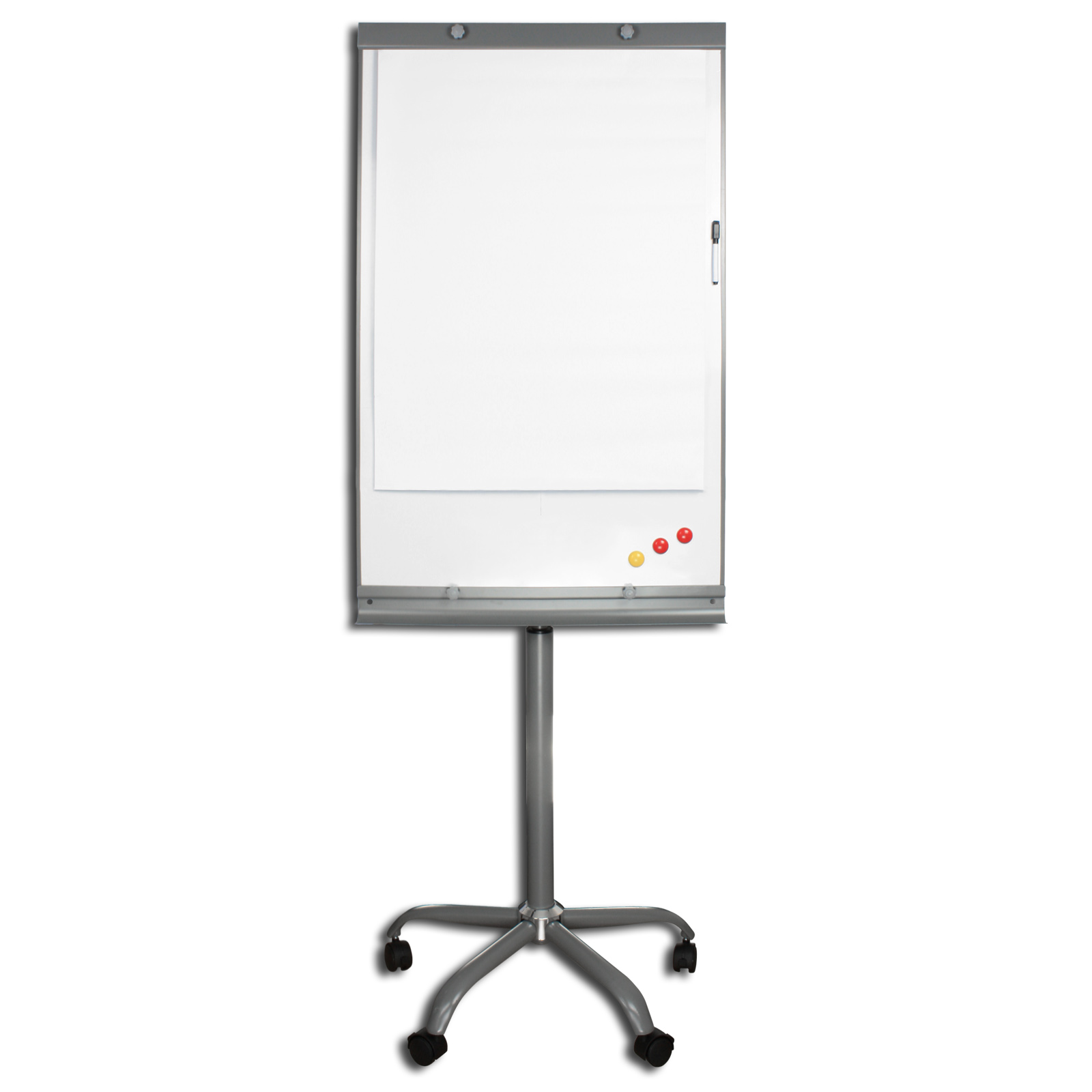flipchart whiteboard magnetisch h henverstellbar auf rollen mobil oder einfach ebay. Black Bedroom Furniture Sets. Home Design Ideas